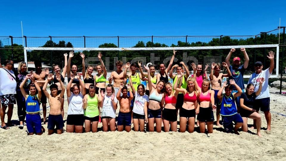 U Umagu održano regionalno prvenstvo U15 u odbojci na pijesku