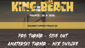 King of the Beach - dva turnira u jednom danu, jedan za profesionalce i jedan za rekreativce